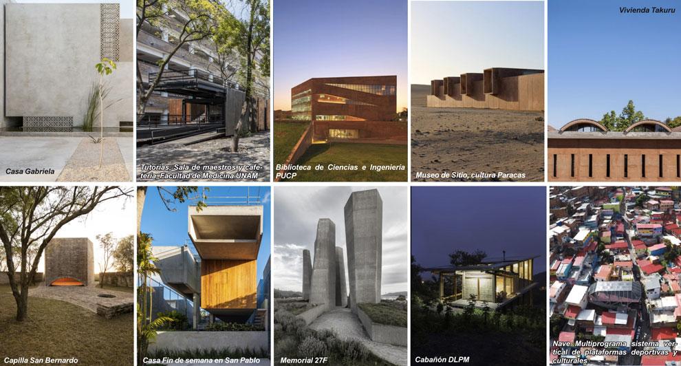 La baq premi la arquitectura latinoamericana en sus for Arquitectura materias